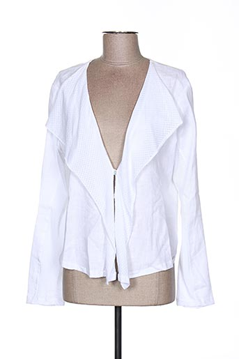 Veste casual blanc MALOKA pour femme