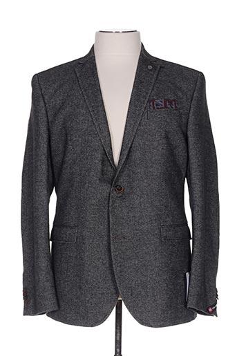 Veste casual gris CLUB OF GENTS pour homme