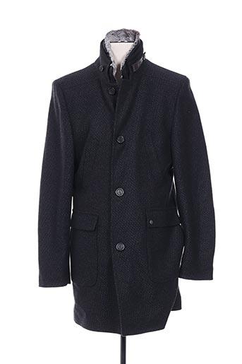 Manteau long gris CLUB OF GENTS pour homme