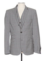 Veste chic / Blazer gris CLUB OF GENTS pour homme seconde vue