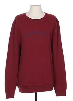 Sweat-shirt rouge HACKETT pour homme