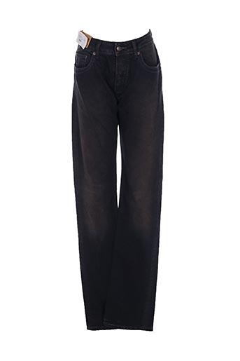Jeans coupe droite noir MCS pour homme