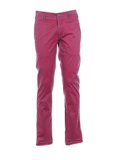 Pantalon casual rose MMX pour homme