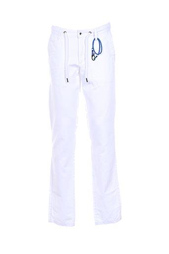 Pantalon casual blanc S.OLIVER pour homme