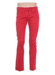 Pantalon casual rouge MCS pour homme seconde vue