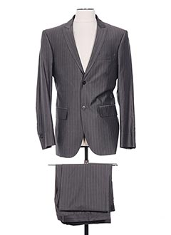 Costume de ville gris CHRISTIAN LACROIX pour homme