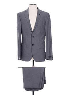 Costume de ville gris KARL LAGERFELD pour homme