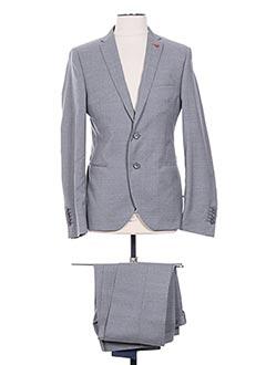 Costume de ville gris MANUEL RITZ pour homme