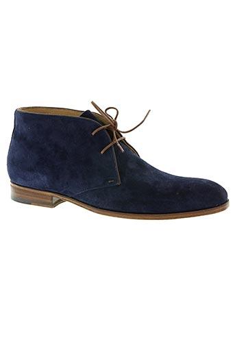 Bottines/Boots bleu PARADIGMA pour homme