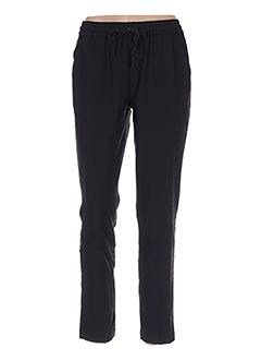 Pantalon chic noir GRACE & MILA pour femme