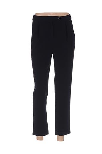 Pantalon 7/8 noir CUBIC pour femme