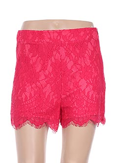 Short rose JUS D'ORANGE pour femme