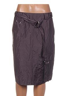 Jupe mi-longue violet ANIMALE pour femme