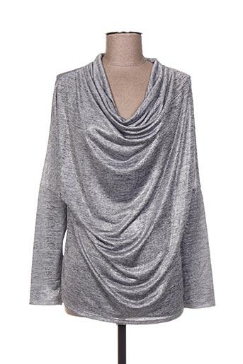 Top gris COLLIE pour femme
