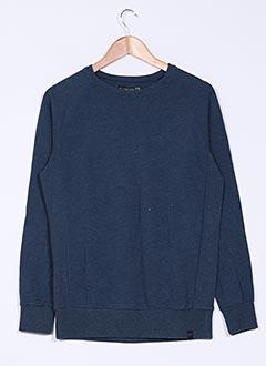 Sweat-shirt bleu QUIKSILVER pour garçon