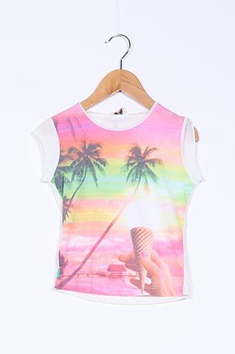 T-shirt manches courtes beige CHIPIE pour fille
