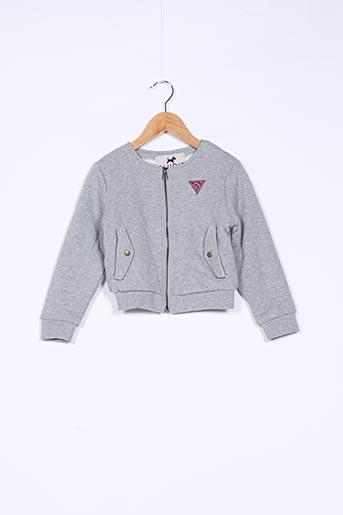 Veste casual gris CHIPIE pour fille