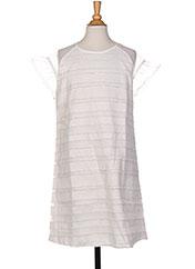 Robe mi-longue blanc MAYORAL pour fille seconde vue