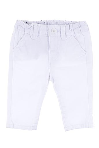 Pantalon casual blanc MAYORAL pour garçon