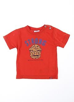 T-shirt manches courtes rouge ABSORBA pour garçon