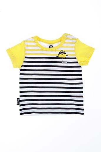 T-shirt manches courtes jaune TUC TUC pour garçon