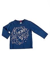 T-shirt manches longues bleu TUC TUC pour garçon seconde vue