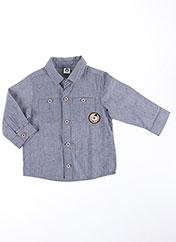 Chemise manches longues gris TUC TUC pour garçon seconde vue