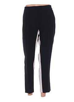 Pantalon 7/8 noir ELISABETTA FRANCHI pour femme