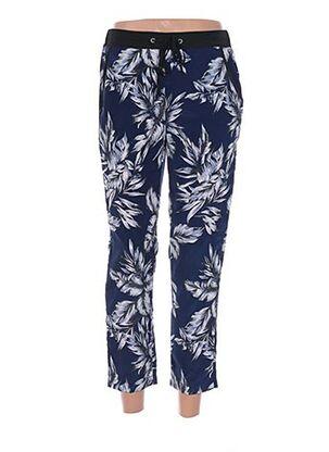 Pantalon 7/8 bleu DESIRES pour femme