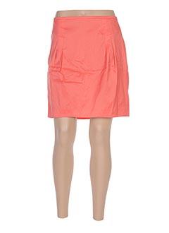 Jupe courte orange HUGO BOSS pour femme
