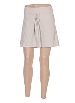 Mini-jupe beige LIU JO pour femme