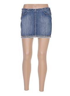 Mini-jupe bleu LIU JO pour femme