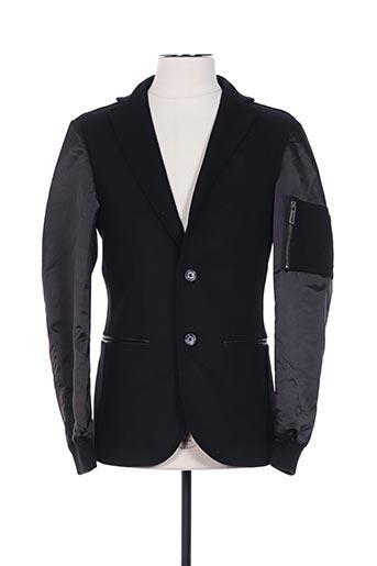 Veste casual noir FRANKIE MORELLO pour homme