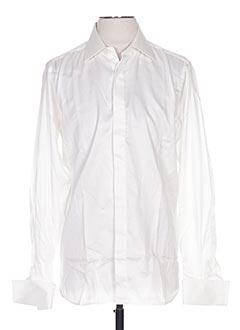 Chemise manches longues beige GRÈGE pour homme
