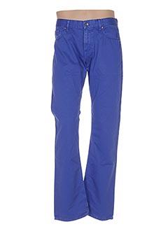 Pantalon casual bleu PAL ZILERI pour homme