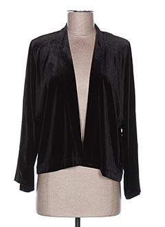 Veste casual noir GAOS pour femme