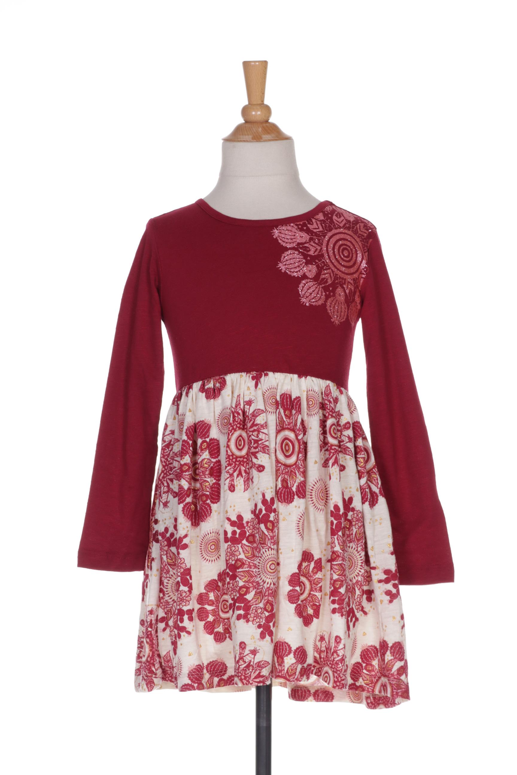 Robes Robes longues de rouge couleur soldes rouge0 DESIGUAL pas 1351764 Modz mi en cher EDH9YbeW2I