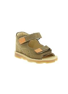 Sandales/Nu pieds marron ASTER pour garçon