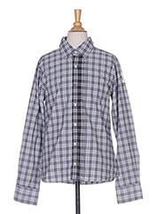 Chemise manches longues gris IKKS pour garçon seconde vue