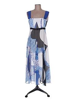 Robe longue bleu DIDIER PARAKIAN pour femme
