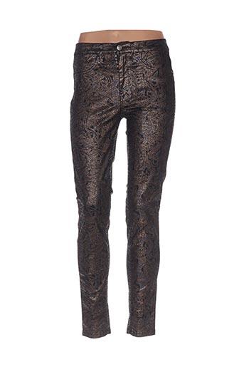 Pantalon casual noir DESGAT pour femme