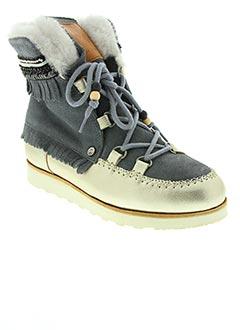 Bottines/Boots gris DOLFIE pour femme