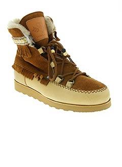 Bottines/Boots marron DOLFIE pour femme