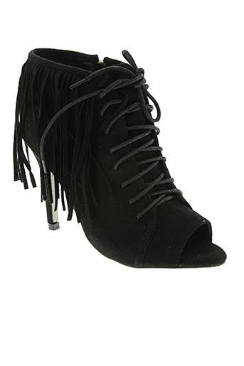 Bottines/Boots noir CASSIS COTE D'AZUR pour femme