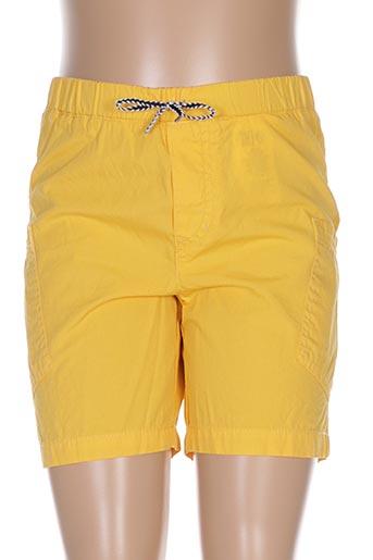 Short jaune CARREMENT BEAU pour fille