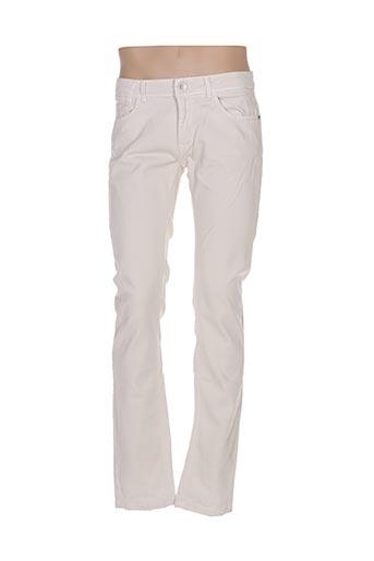 Jeans coupe slim beige GAUDI pour homme