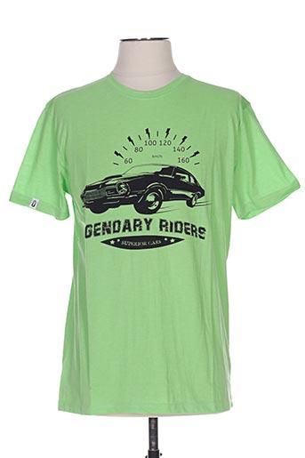 T-shirt manches courtes vert UNICO pour homme