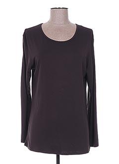 T-shirt manches longues marron FAFA MOD pour femme