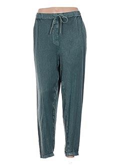 Pantalon casual vert COLINE pour femme