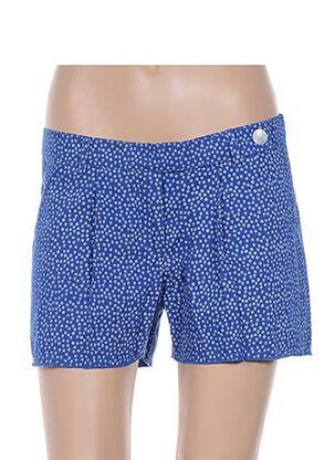 Short bleu EMA TESSE pour femme